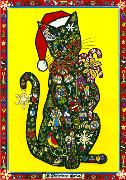 cat christmascat